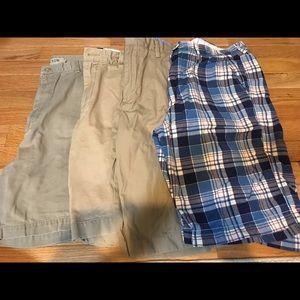 4 pairs of Men's J.Crew Shorts